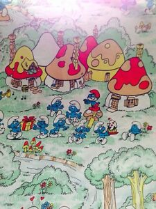 Smurf bed sheet Twin and pillow case Gatineau Ottawa / Gatineau Area image 2