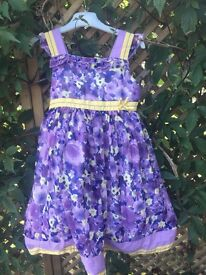 Beautiful Autograph m & s dress age 4-5 years
