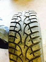 205 65 R15 SNOW TIRES 90% TREAD REMAINING