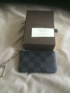 Louis Vuitton Damier Graphite Key Cles / Coin Pouch Kitchener / Waterloo Kitchener Area image 1