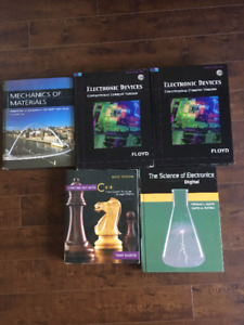 Engineering and Electronic textbooks