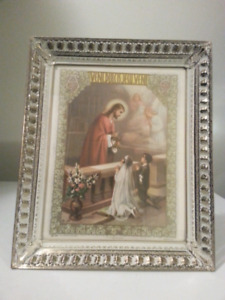 Picture Frame Of  Blessing , Gold & Silver Plated
