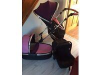 Travel system pram/car seat