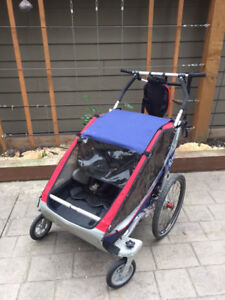 FULLY LOADED CHARIOT CX/DOUBLE/STROLLER/JOGGER