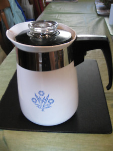 Collectible Vintage Corning Ware Coffeepots/Percolators