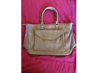 Next leather large handbag, expandable