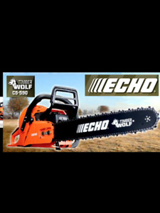 Echo CS-590 60 cc with 18 or 20 inch Chainsaws on Sale Now $499