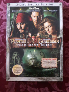 Pirates of the Caribbean: Dead Man's Chest on DVD.