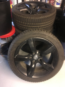 Nissan 350Z Michelin X-Ice Winter Tires and Rims