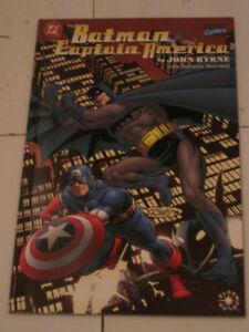 Marvel & DC Comics Batman / Captain America Byrne art comic book