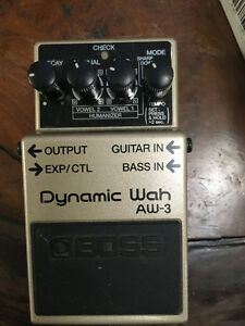 Boss AW-3 Dynamic wah pedal West Island Greater Montréal image 1