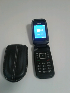 Virgin cell phone with case