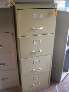 Assortment of 4 Drawer File Cabinets