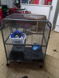 Large cage for ferrets / rats / chinchillas