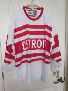 Detroit Red Wings Jersey - Striped  Jersey - New