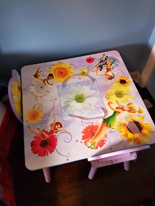 Tinker bell table and chairs