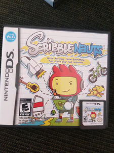 Nintendo ds game. Scribblenauts