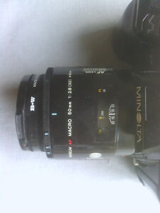 Minolta 9000 with Maxxum AF Macro 50mm Lens North Shore Greater Vancouver Area image 3