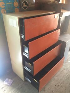 4 - Drawer Lateral Filing Cabinet
