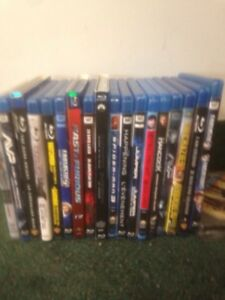 BLU-RAY BLURAY MOVIE MOVIES COLLECTION ALL 18 FOR $40