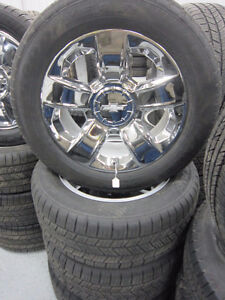 chevrolet 20'' wheels and tires