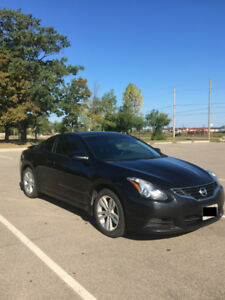 2011 Nissan Altima Coupe 2.5 S - Red Leather