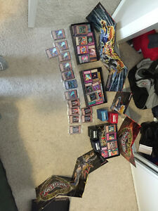 Awesone yugioh card collection!!!
