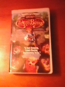 Country bears vhs