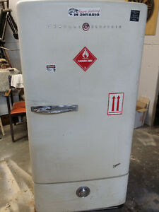 Antique GE Fridge