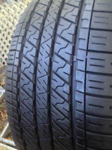 Set of 4 Dunlop Summer  tires 245/40/19  (Tread 10/32)