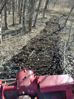 Field tilling and land clearing