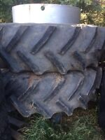 Good year duals for tractor