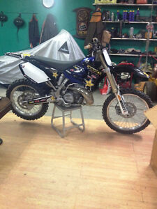 2005 YZ 250 2 STROKE MINT CONDITION