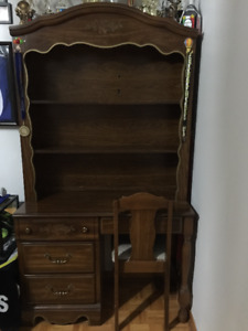 Hand Crafted Wood Dresser Set OR Sold Separate