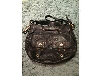 Genuine leather Juicy Couture handbag