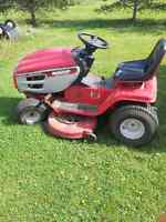 "16.5 hp Mastercraft lawn tractor, 42"" deck, $300.00"