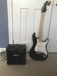 Silvertone Electric Childrens Guitar