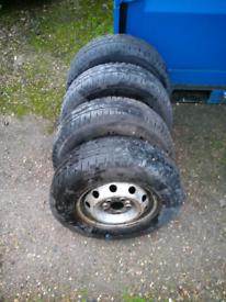 Van tyres C