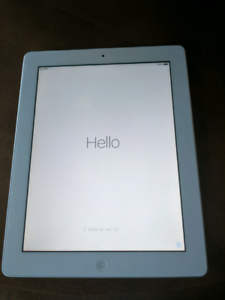 IPad 2 + 3G 32 GB white excellent condition