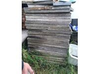 Heavy duty concrete garden slabs for drive and garden 3x2 and 2x2