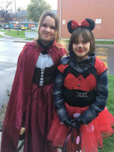 Home made mini mouse costume