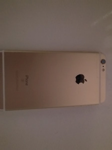 iphone 6s plus 128 gb gold with unlock sim for trade