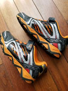 Boys Lighted Athletic Works Shoes-Size 1 like new - worn once