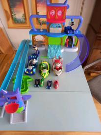 Bundle of pj mask toys