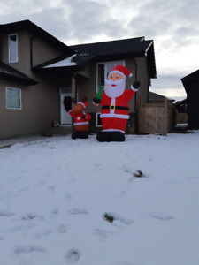 Santa Claus Blow Up for Yard or Indoors