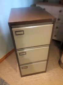3 Drawer Roneo Filing Cabinet