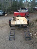 Utility trailer for sale 50x80