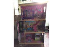 ELC dolls house & all accessories