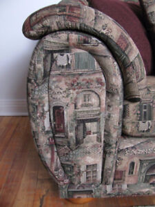 Sofa / Fauteuil QUALITE - Quality Couch size 2 1/2