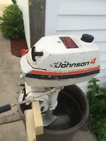 Johnson 4 hp outboard